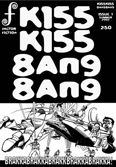 Cover image KissKiss BangBang issue 1 by Simon Fraser & Jay Eales