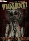 Violent! 15 cover by Mark Pexton